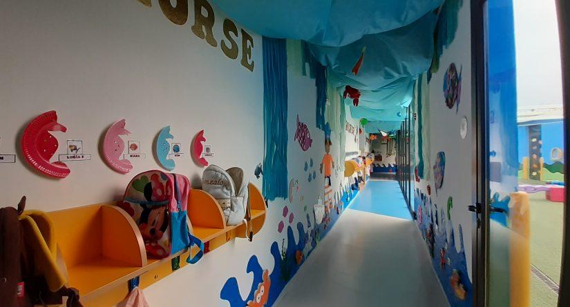 Pasillos decorados en nuestra escuela infantil