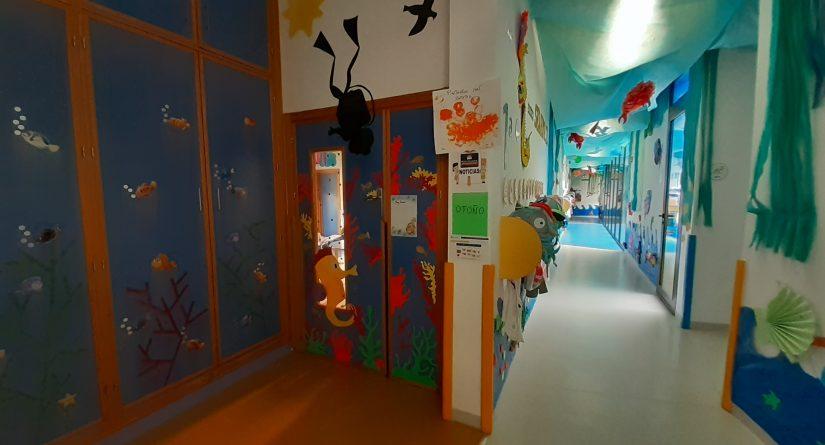 Acceso a clases en nuestra escuela Infantil