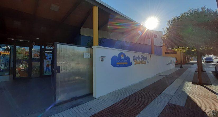 Fachada exterior de nuestra escuela infantil Novaschool Fuentenueva