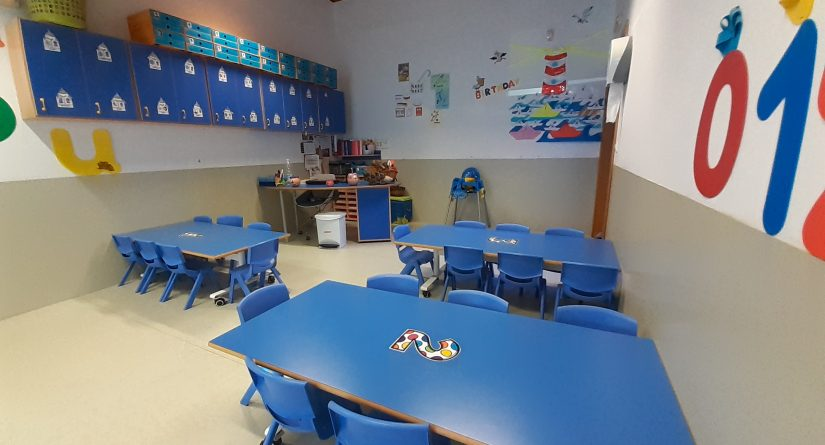 Interior clases de nuestra escuela infantil