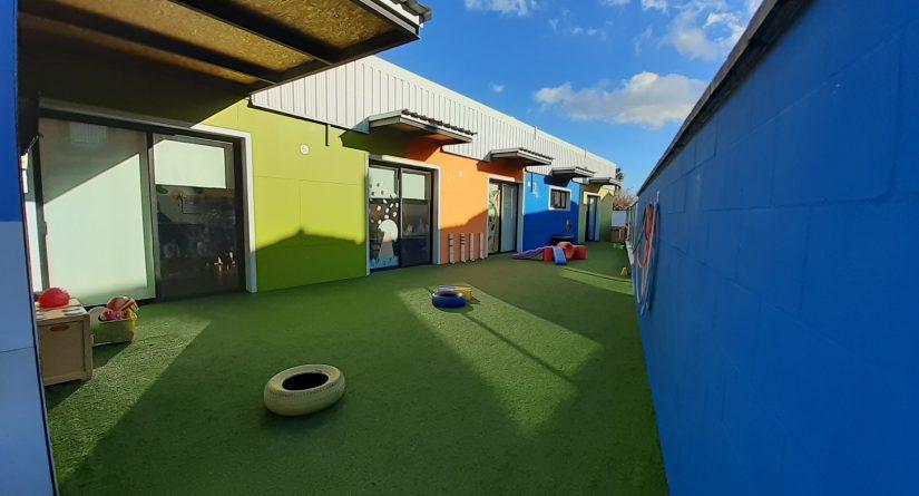 Patio exterior de nuestra escuela infantil