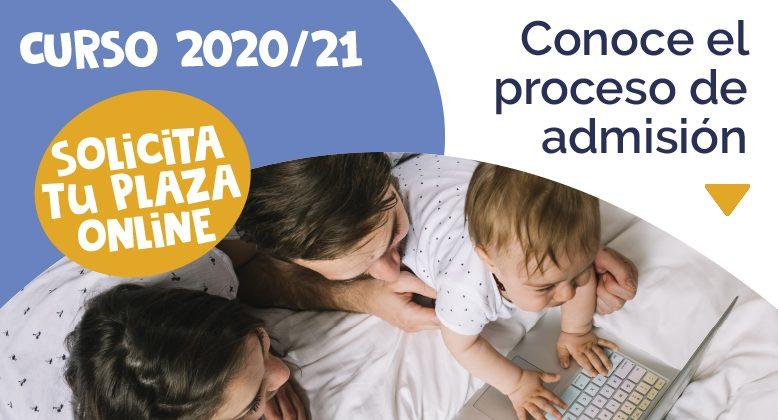 Proceso de admisión curso 2020-2021