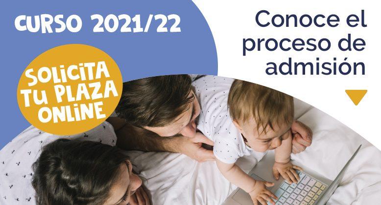 Proceso de admisión curso 2021-2022